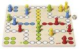 Houten Ludo-spel   Goki basic (56710)