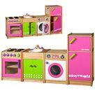 Speelkeuken-4-delig-Roze- -Santoys