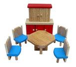 Charls-Toys--Houten-poppenhuis-meubels-Eetkamer-6-delig