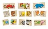 Cause-Houten-puzzel-memory-met-32-kaartjes--vrolijke-dieren