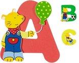 Houten kinderkamer letters van Goki