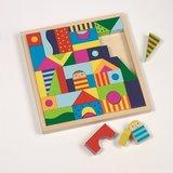 Goki - Blokkendoos 'Shalimar' met 57 houten blokken_3