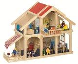 Goki - Houten poppenhuis met veranda_3