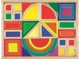 Goki - Blokkendoos 'regenbogen en vensters', 37-delig_3