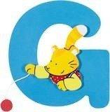 De letter G uit de serie houten kinderkamer letters van Goki