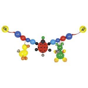 Kinderwagenketting - Eend - Kikker - Lieveheersbeestje   Heimess