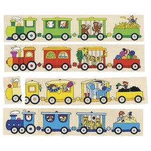 Puzzel & Memorie - Locomotieven   Goki