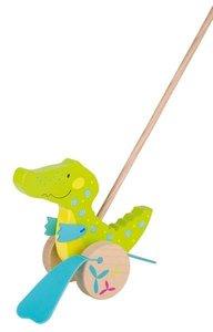 Houten loopstok krokodil | Goki Susibelle 54911