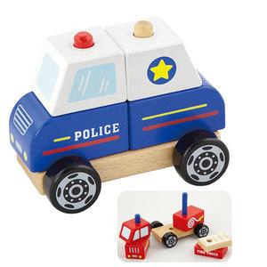 Stapelfiguur - Politieauto | Vigatoys