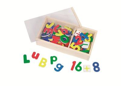 Magnetische letters & cijfers