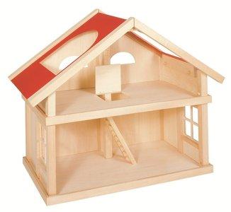 Goki - Houten poppenhuis met 2 etages