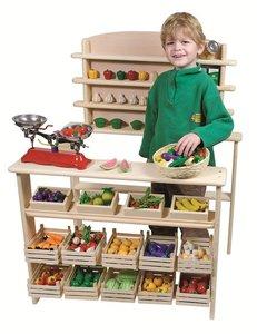 Goki - Houten speelgoed winkeltje