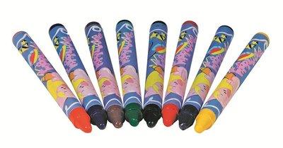 Toys Pure - Doosje met 8 textielkrijtjes