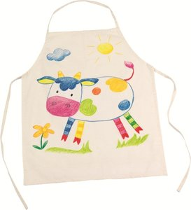 Goki - Keukenschort voor kinderen om te kleuren