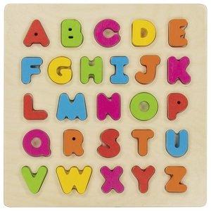 Alfabetpuzzel 3D | Goki