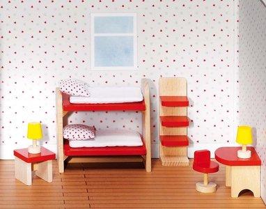 Goki Basic - Poppenhuismeubels badkamer